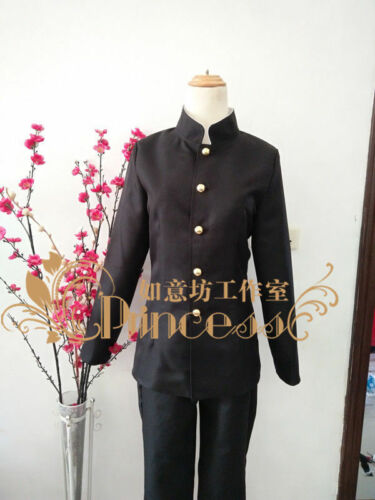 TV Mob Psycho 100 Kageyama Shigeo Costume Black Uniform Japanese Student cos#24