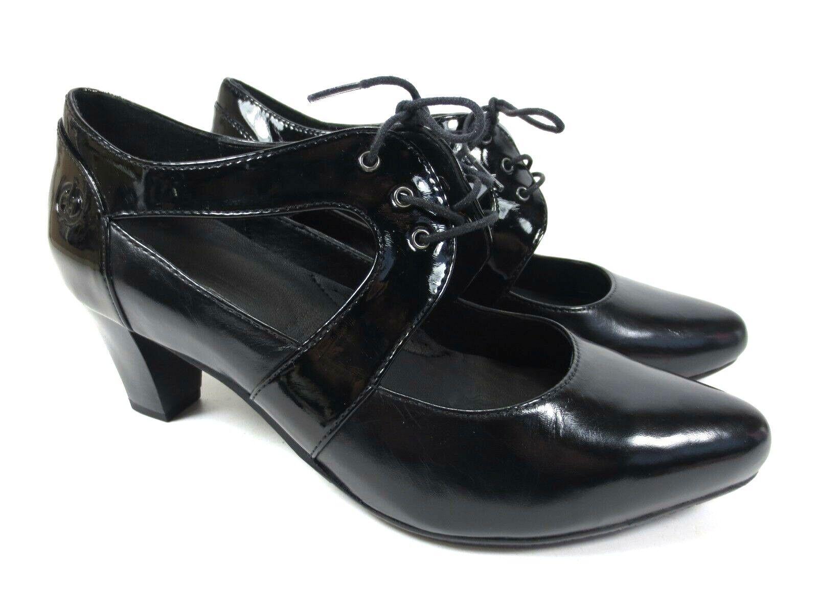 GERRY WEBER Spangen Pumps Leder Schuhe Mary Jane Jane Jane weich gepolstert NEU 99,95  | Günstigstes  ad8d19