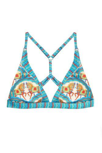 £ 88 oberteil 32c Paolita 36a Pp 34b Dh088 Rrp Klein Größe 13 Bikini Blau Uk Carmeline odxBWeCr