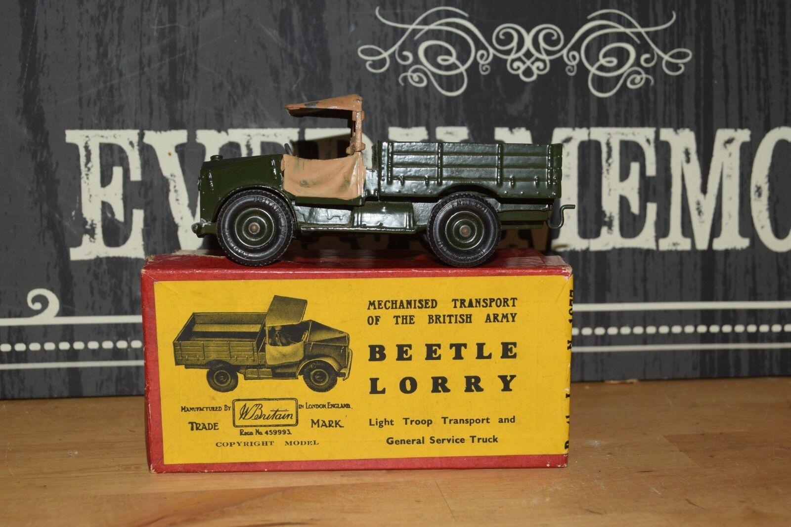 VINTAGE BRITAINS MODEL No.1877 Beetle Beetle Beetle Camion Excellent Boxed 0849fc