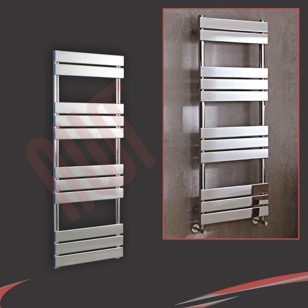 500 mm (W) x 1300 mm (H)  Vega  Chrome Designer sèche-serviettes, Warmer, Radiateur