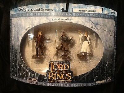 Lord of the Rings Elven Warriors of Helm/'s Deep Soldiers and Scenes MINT AOME