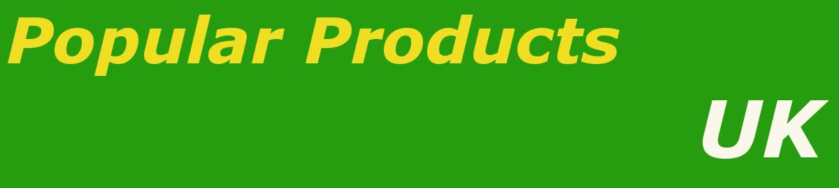 ukpopularproducts