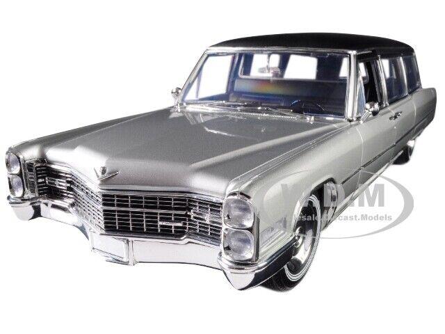 1966 ILLAC Limousine Argent Noir PRECISION collection 1 18 vertlight 18005