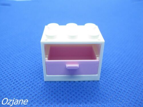 LEGO PART 4532//4536 CONTAINER CUPBOARD 2 X 3 X 2 WITH DRAWER FRIENDS SETS