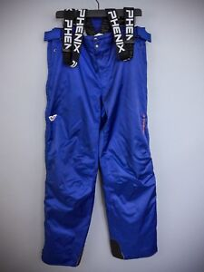 XII355-Men-Phenix-Blue-Skiing-Snowboarding-Salopettes-W38-L33