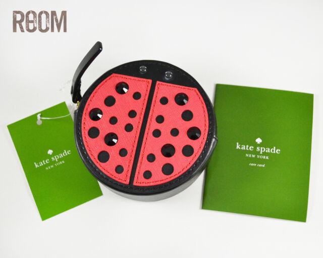 04e7647fbabc Kate Spade turn over a new leaf ladybug coin purse wallet