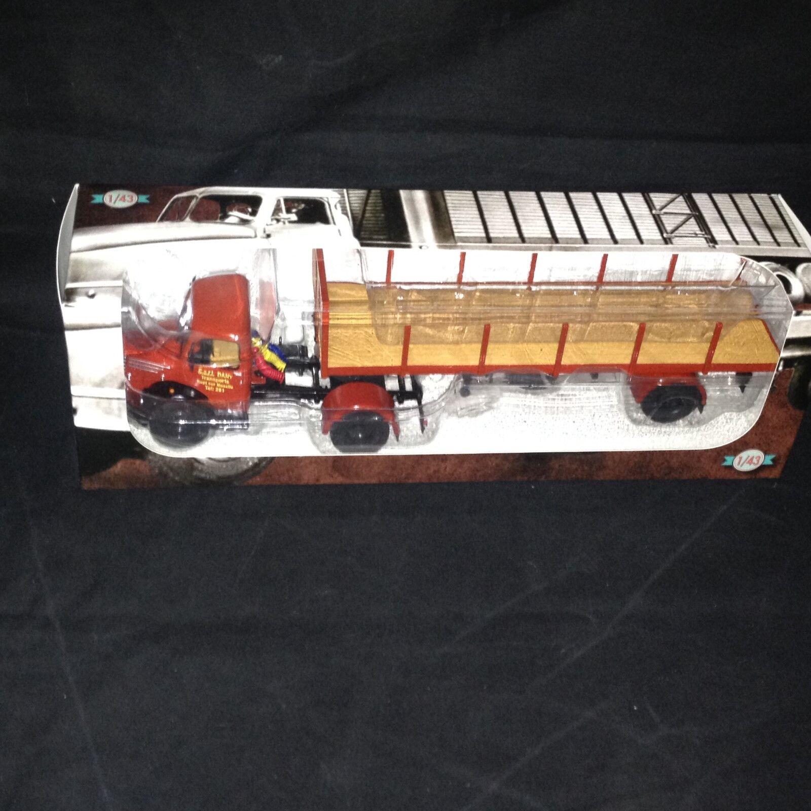 Truck unic zu 42t dany transport-ixo altaya 1 43 truck trailer (eb37)
