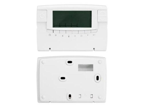 THERMOSTAT D/'AMBIANCE ECRAN LCD AVEC PROGRAMMES CHAUFFAGE CLIMATISATION 5 à 30°C