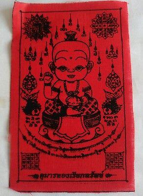 Kuman Thong LP Monk Thai Talisman Ghost of a boy Fetish amulet Magic Yant  #x01
