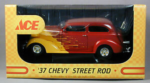Ace-Hardware-039-37-Chevy-Street-Rod-Coin-Bank-amp-Hat-Limited-Edition