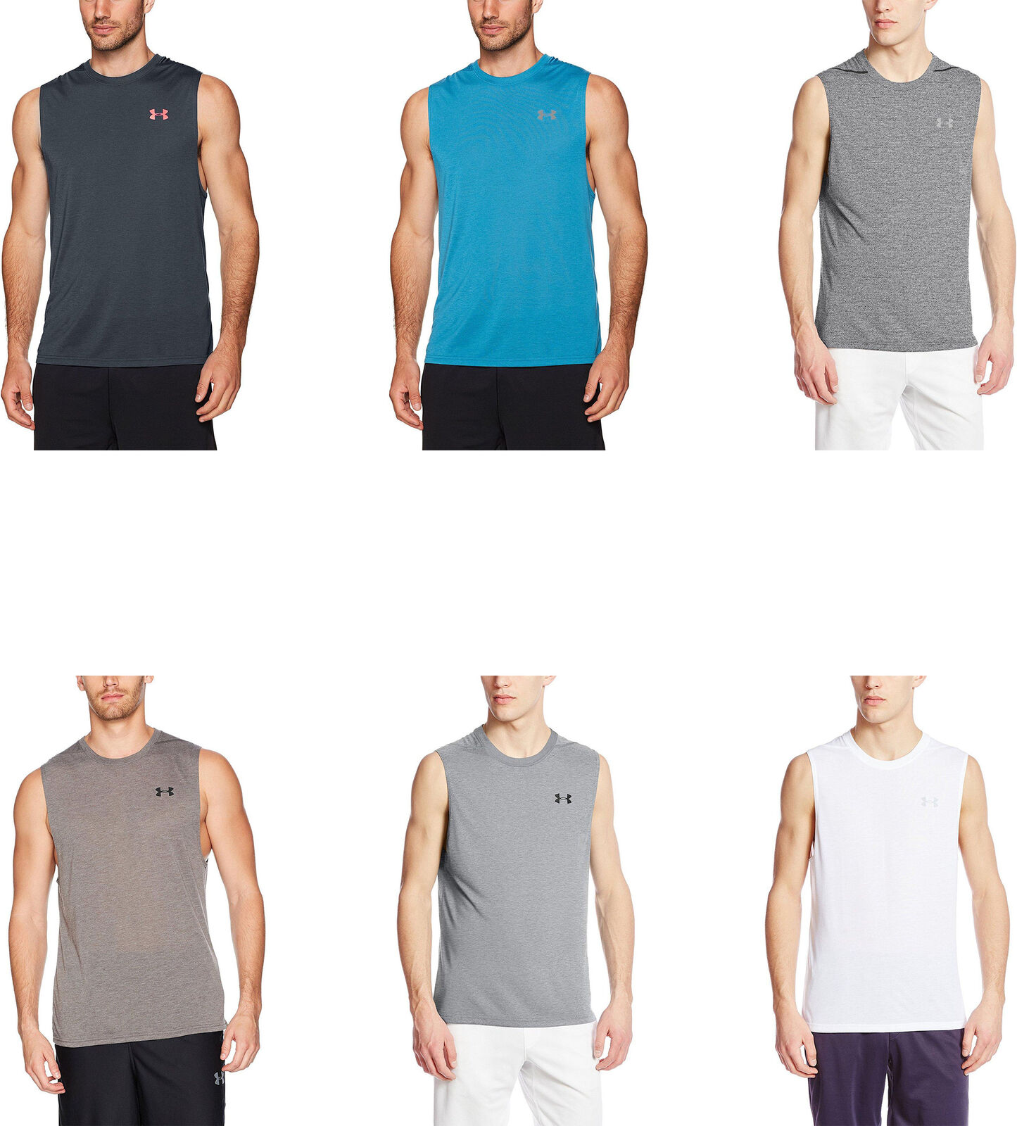 7cd4b43bd Details about Under Armour Men's Threadborne Siro Muscle Tank, 6 Colors