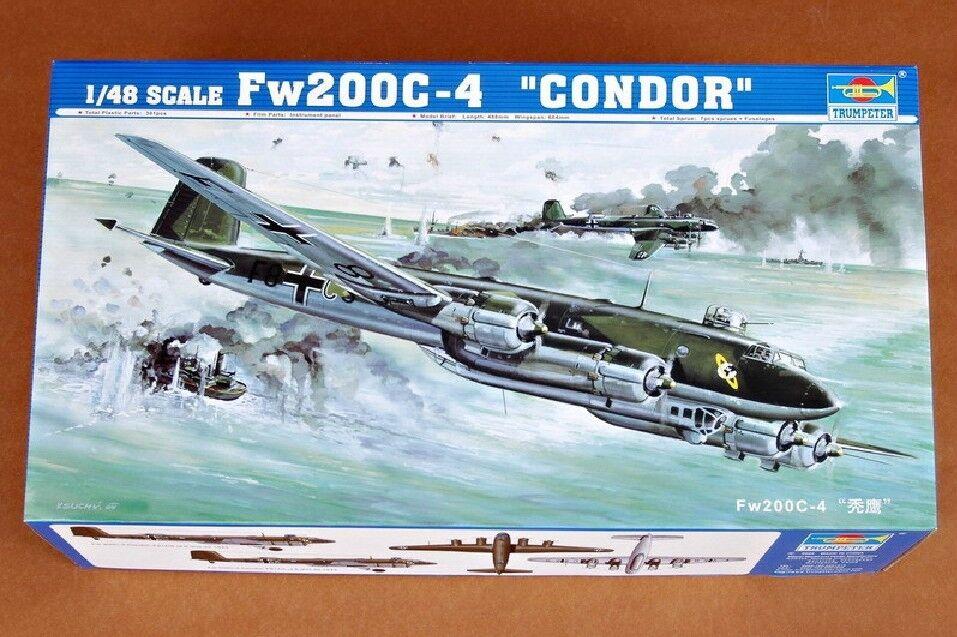 Trumpeter 1 48 02814 Fw200C-4 Condor