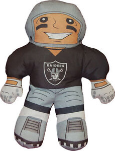 NFL-21-034-Raiders-Character-Pillow-Plush-toy-rush-figure-player-new-FREE-SHIPPING