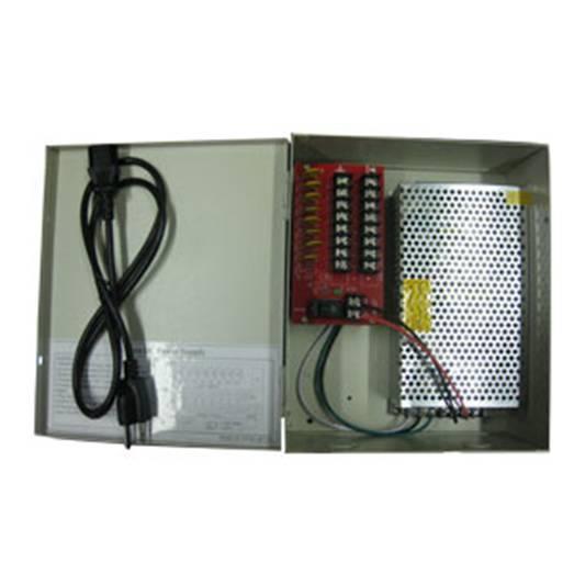 Power Panel Difusión Salida 13A 12V Dc Restable Ul