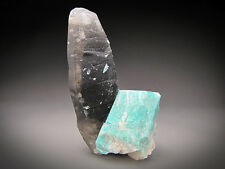 Smokey Quartz and Amazonite, Crystal Peak, Colorado