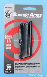 Details about Savage 10 RD Round Magazine 22 LR Models 62 64 954 Genuine  Clip Mag NEW 30005