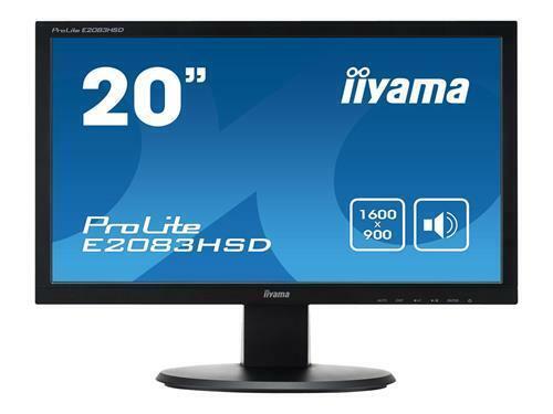 """monitor a led Monitor LED IIYAMA Prolite e2083hsd-1 20/"""" e2083hsd-b1 E2083HSD"""