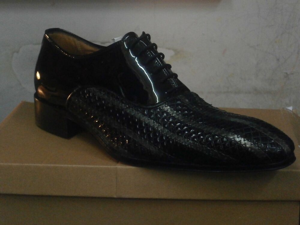 Chaussures Hommes/italian Shoes, Mario Alborino Solid/élégante Chaussures En Cuir.