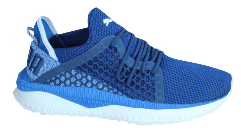 Puma Tsugi Netfit Lacet Lapis Bleu Textile Baskets pour Hommes 364629 03 M13