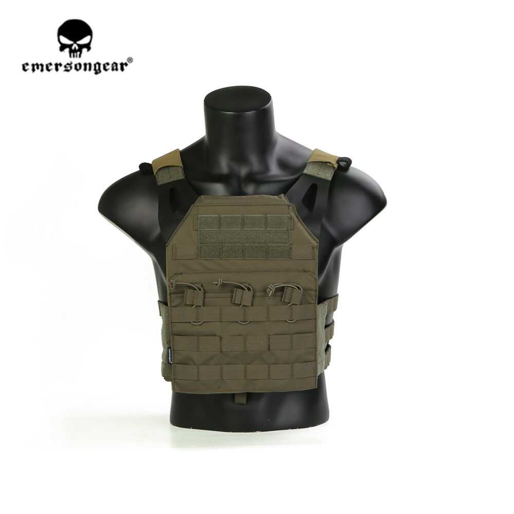 Emersongear  JPC Tactical Vest Easy Plate Carrier Shooting Airsoft Carrier RG  quality first consumers first