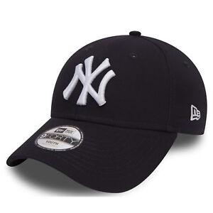 New Era Kids Essential 9Forty New York Yankees Navy Cap OTC Youth  cf17b6079eeb