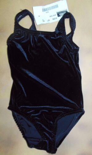 NWT Main Street Dance Plush Velvet Tank Leotard Jade or black Adult//Child Sizes