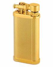 Old Boy IM Corona Butane Pipe Lighter 90 Degree Flame Gold Barley - 1205