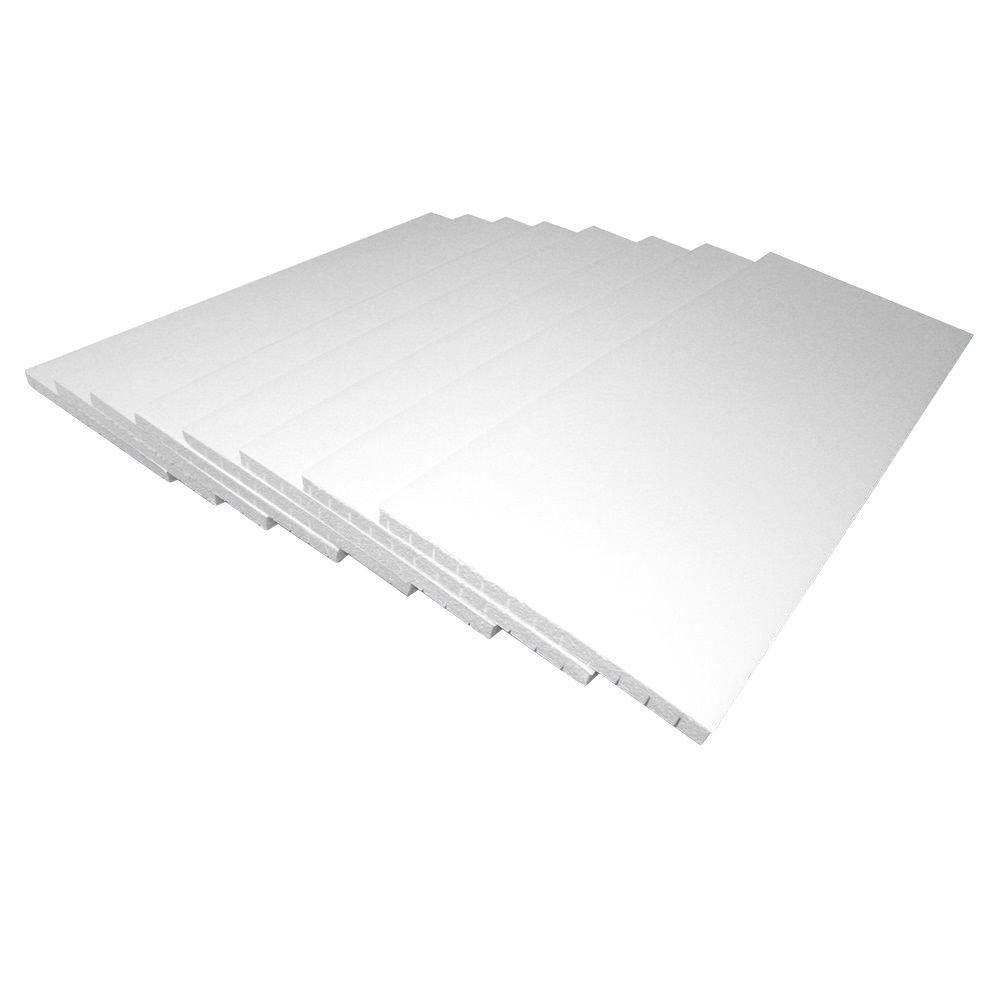 Garage Door Insulation Panel Kit Moisture Resistant Durable Product 8 Pieces