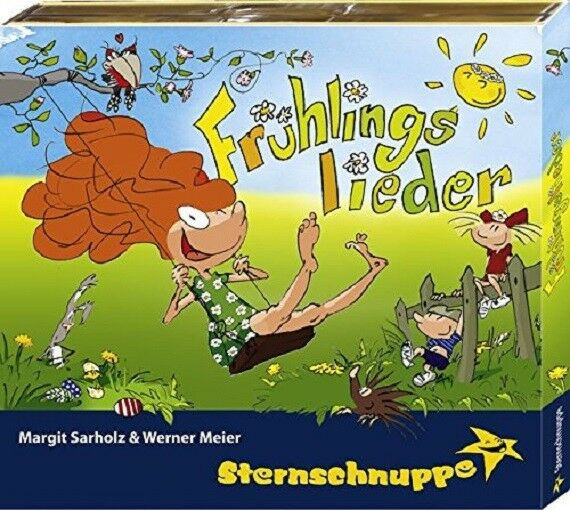 STERNSCHNUPPE - FRÜHLINGSLIEDER: FRÖHLICH-FRECHE FRÜHLINGS-HITS  CD NEW!