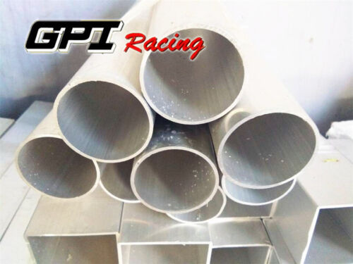 """OD 2.5 /""""X 2.3/"""" ID 2 mm THICKNESS 6061 ALUMINUM TUBE PIPE ROUND L=12 INCH"""