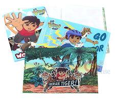 Go Diego Go File Jacket Clear Folder 4PC Stationery Set