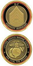 USMC Gunnery Sergeant Challenge Coin US Marine Corps Ltd Edition Gunny E-7 EG&A