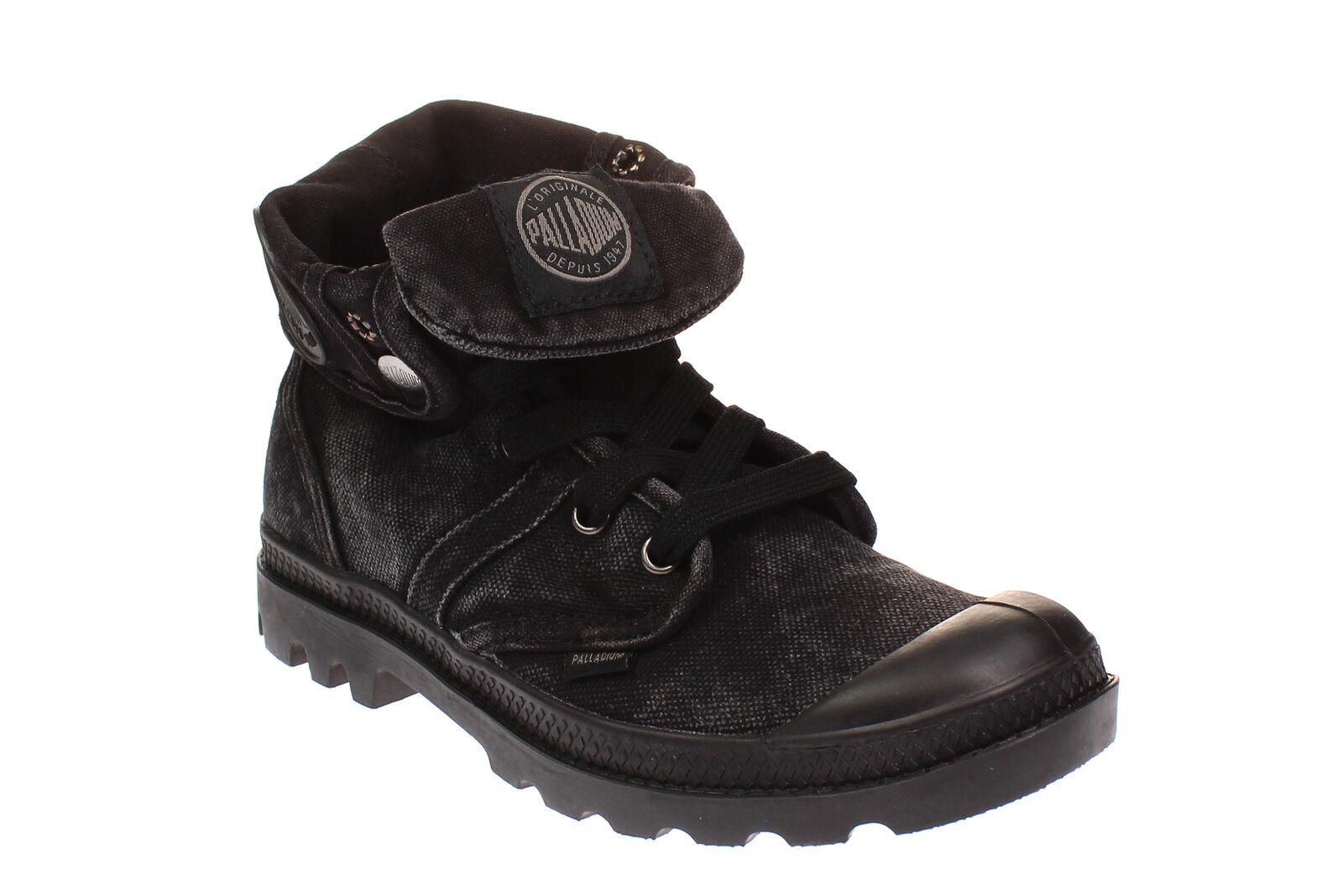 Palladium 71874 baggy W-señora zapatos botas botas - 862-Black-metal