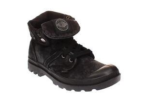 black Schuhe 71874 Palladium Damen Stiefel Baggy Boots metal W 862 8TFwSq