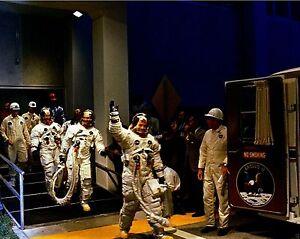 NASA Apollo 11 astronauts leave for launchpad July 1969 New