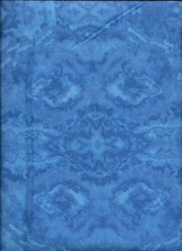 New Dark Blue Blender 100/% Cotton Flannel Fabric by the Half-Yard