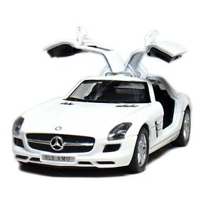 Brand New 5 Kinsmart Mercedes Benz Sls Amg Diecast Model Toy Car 1