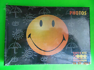 SMILEY-MILLENNIUM-ALBUM-PHOTOS-12x17-cm-NEUF-sous-blister-scelle