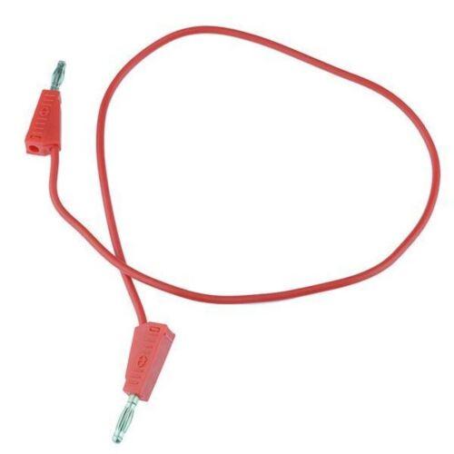 5 X Rosso 4mm impilabile PROVA DI PIOMBO 500mm