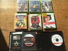 JOBLOT 8 juegos de acción Xbox 360 Gears of War punto de inflexión Shadowrun Homefront
