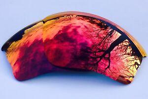 rouge Half de de gravé Oakley Xlj miroir polarisé remplacement Jacket Miroir StqY8x8