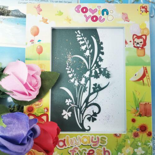 Flower Grass Metal Cutting Dies Stencil Scrapbooking Photo Album Paper Cards DIY