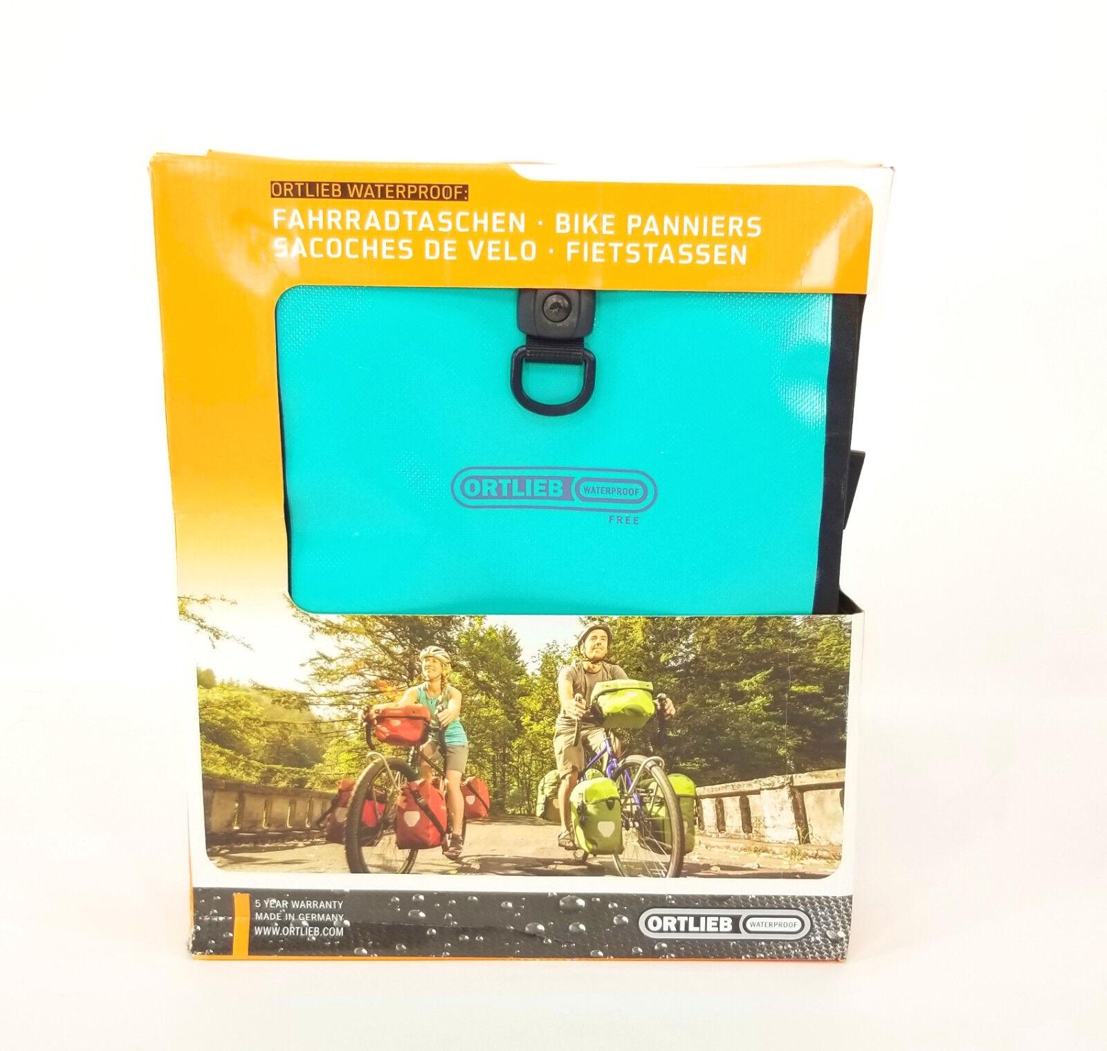 Ortlieb Sport-Roller Free Bicycle Panniers, Pair, Seafoam Green