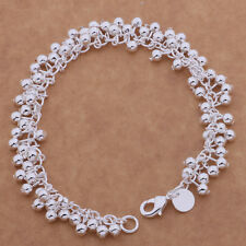 925 Sterling Silver Balls Ladies Womans Bracelet Fashion Jewellery Jewelry