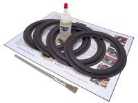 Advent 6.5 (6 1/2 Inch) Speaker Foam Surround Kit - 4 Pack