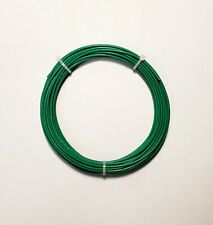 20 Awg Mil Spec Wire Ptfe Green Stranded Silver Plated 25 Ft