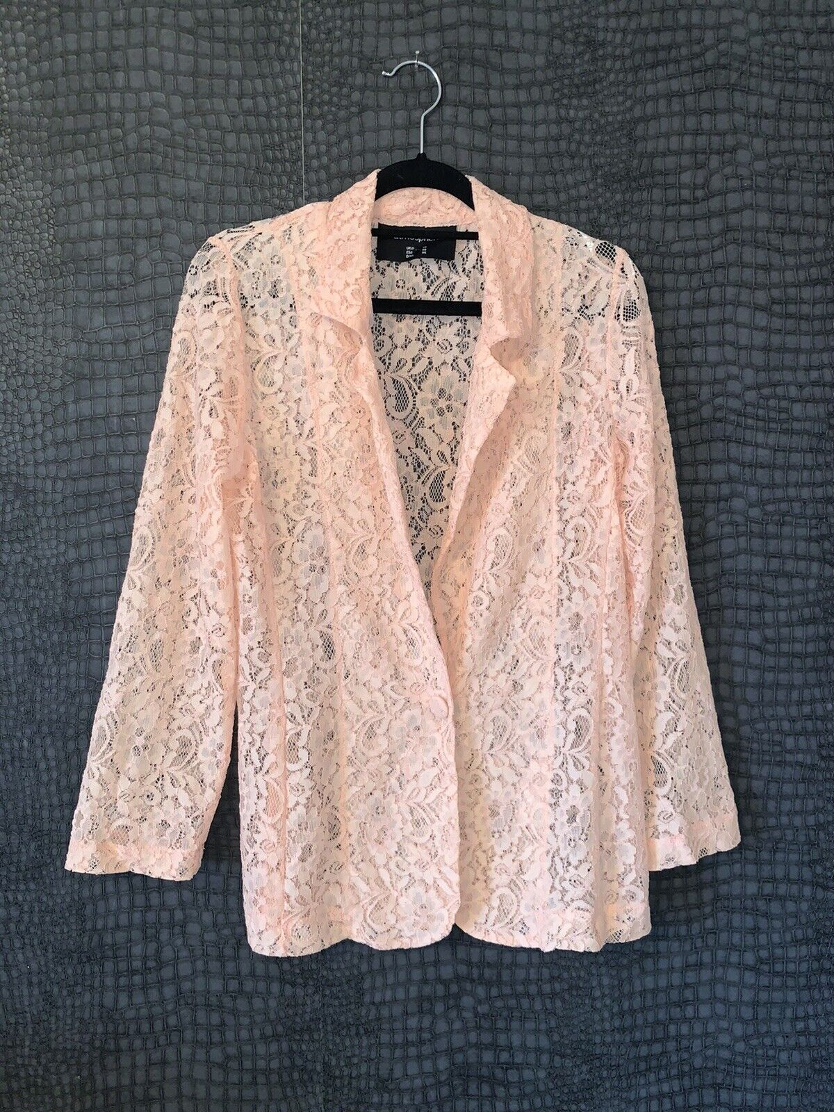 WORN ONCE - IMMACULATE - PRIMARK ATMOSPHERE LACE BLAXER - UK 10