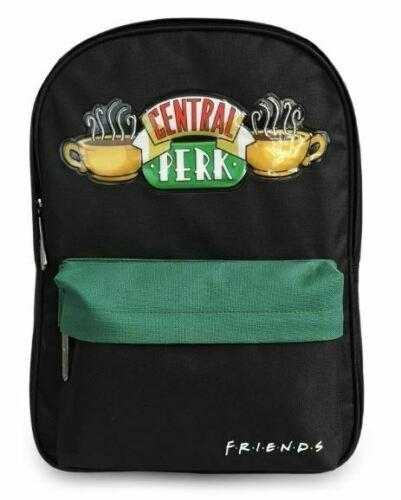 Groovy Unisex's Backpack Ruck Sack Friends Central Perk Logo Embossed Day Bag Of