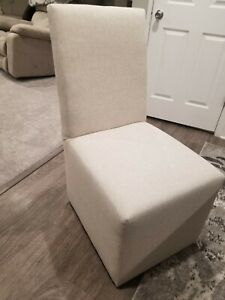 8 Dining Room Chairs Fabric Value City Furniture 900 For All 8 Ebay